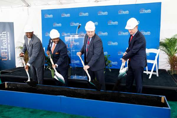 UF Health Rehabilitation - Wildlight groundbreaking