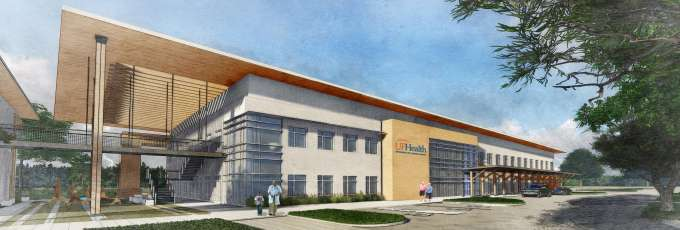 Artist Rendering - UF Health Wildlight Rehabilitation