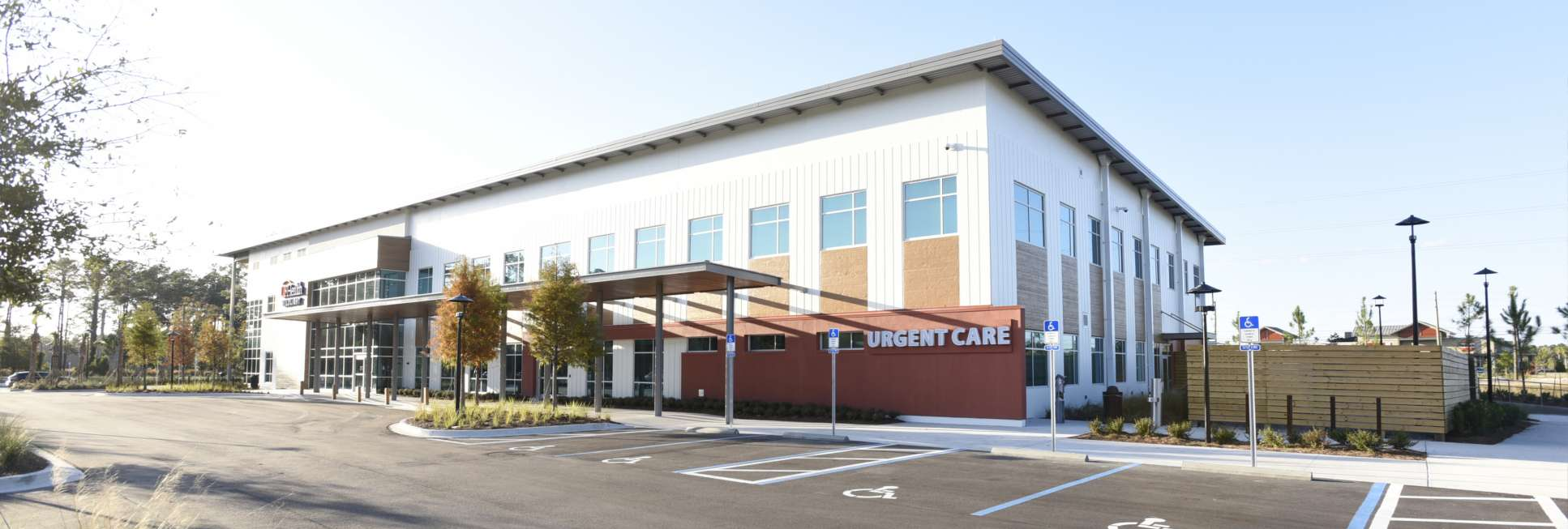 UF Health Wildlight – MOB Exterior, Urgent Care