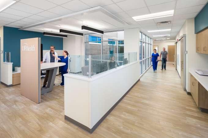 UF Health Wildlight MOB - Back Office Area
