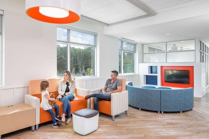 UF Health Wildlight MOB - Pediatrics - Waiting Area