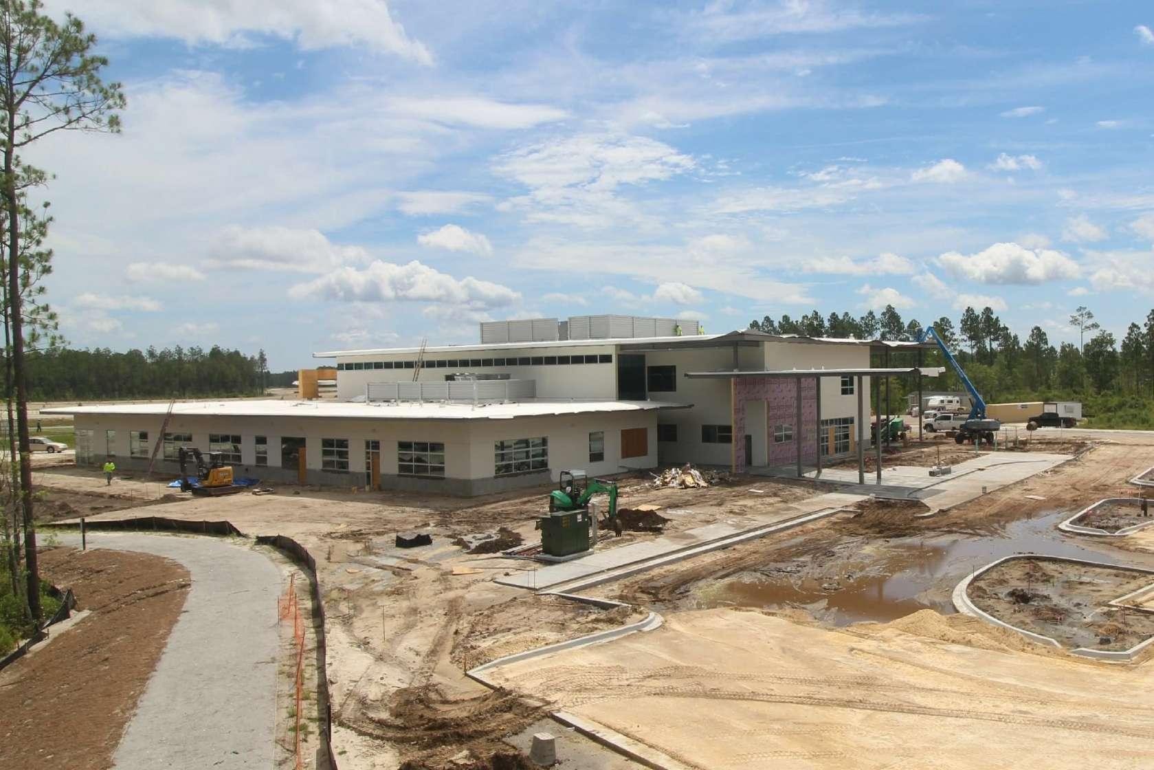 UF Health Wildlight Construction YMCA